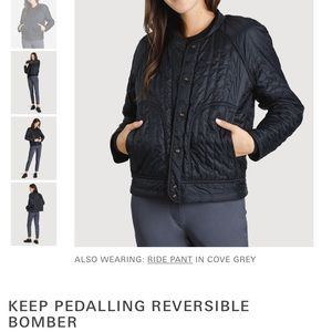 Kit and Ace Keep Pedalling Jacket